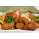 Scampi (9 pcs.) & Chips